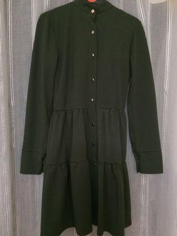 Zielona sukienka tunika 36 S