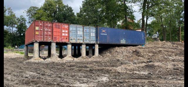 drzwi do kontenera morskiego 40 HC