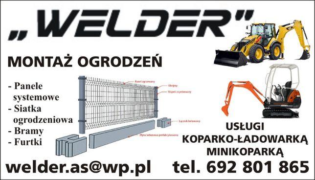 Montaż ogrodzeń Ełk WELDER