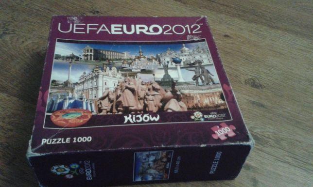 Puzzle uefa euro 2012 Kijów