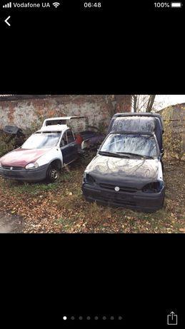 Розборка Opel Combo B,Запчастини опель комбо б 1.4-1.7