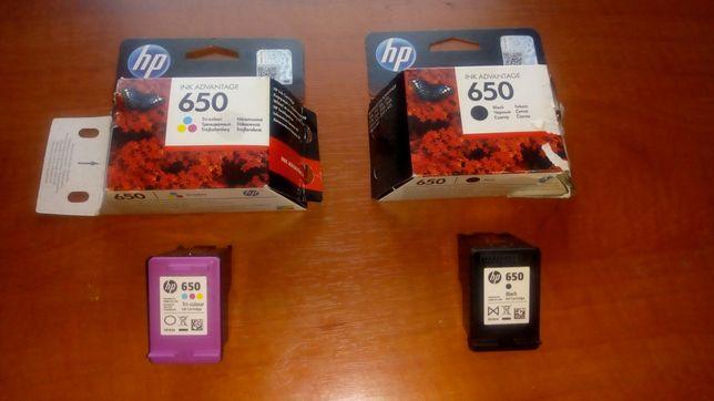 Sprzedam 2 tusze do drukarki HP
