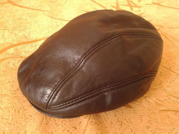 утеплённая мужская кепка с ушами 57 размера