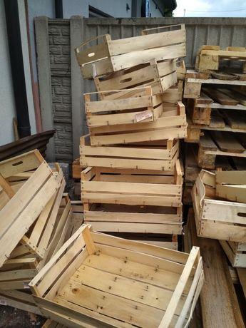 Skrzynki drewniane na podpałkę