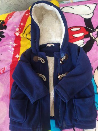 Пальто детское bluezoo 3-4года