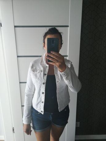 Katana jeansowa biała L