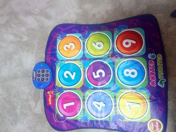 Дитячі іграшки(танцювальний килимок)