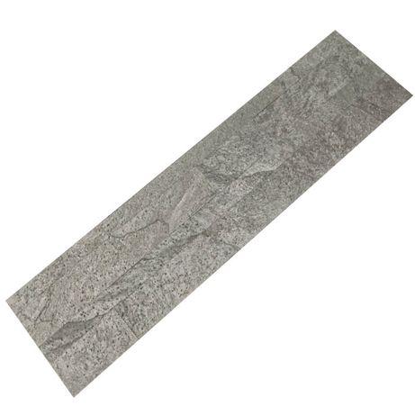 Panel SAMOPRZYLEPNY Silver Grey 60x15 Kamień dekoracyjny Łupek