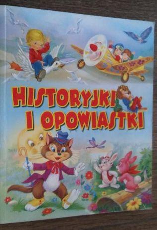 """Książka dla dzieci """"Historyjki i opowiastki""""."""