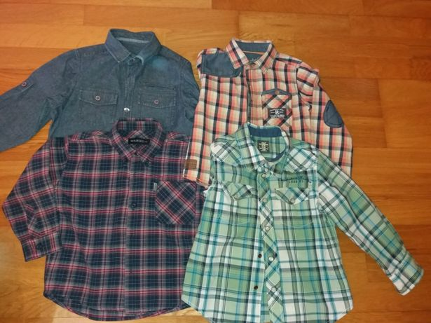 Camisas menino 3anos
