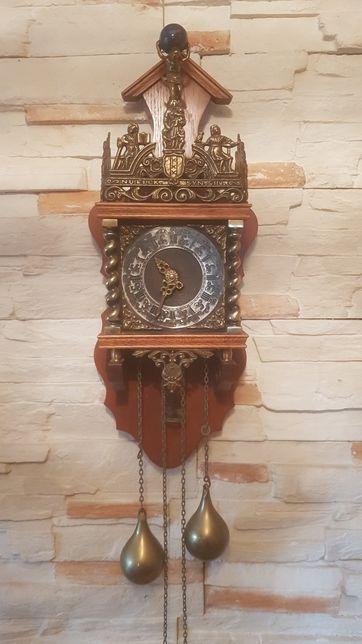 Piękny stary zegar FHS Germany Nu Elck Syn Sin z 67 roku