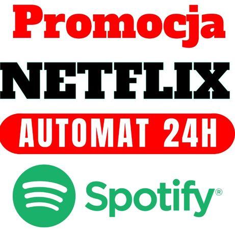 NETFLIX 60 DNI Premium PL gratis + SPOTIFY |Konto z GWARANCJĄ! Automat