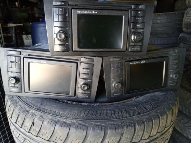 Магнитола (Radio, CD, TV, Navigation Plus) Audi A6 (C5) 1997-2004