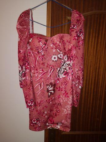 Vestido novo rosa