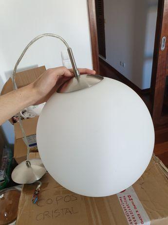 Candeeiro de teto suspenso bola