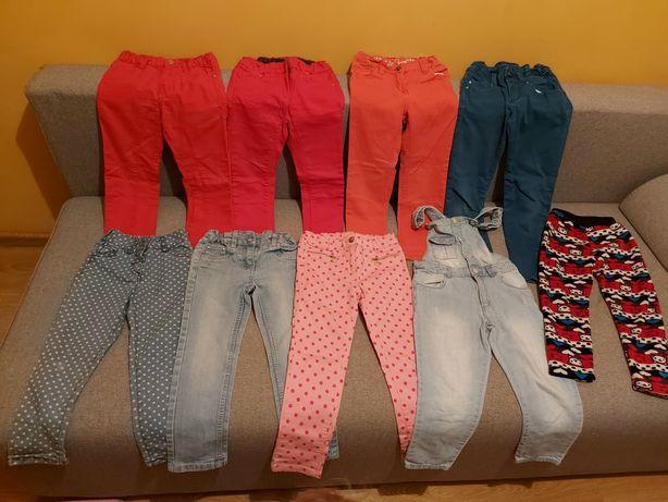 Paka ubranek dla dziewczynki 98-110