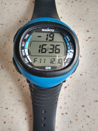 Suunto D3 freediving łowiectwo