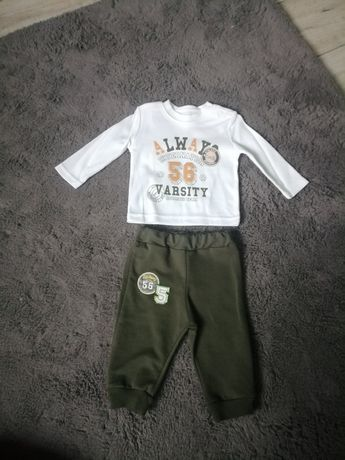 Komplet. Spodnie bluzka 68