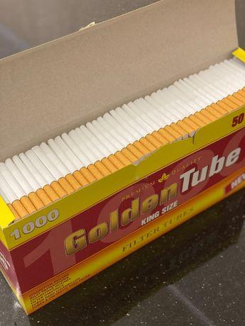 TUBE 1000 1 ЯЩ Гильзы для сигарет, гильзы для табака, сигаретные гильз