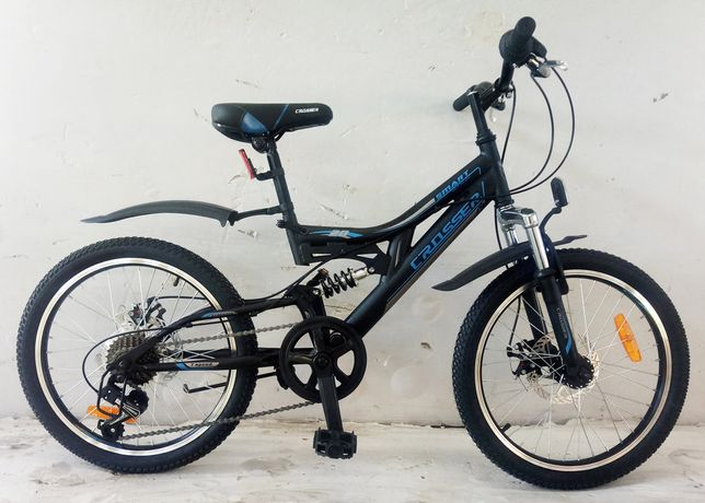Детский спортивный велосипед Crosser  СМАРТ  20дюймов