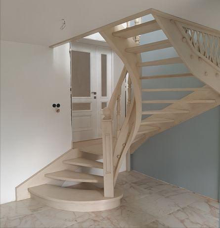 Изготовление деревянных лестниц (сходи)