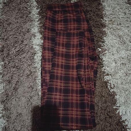 Spodnie legginsy krata L/xl