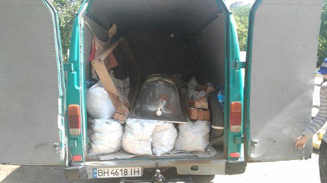 Вывоз строительного мусора,ненужного хлама,старой мебели...
