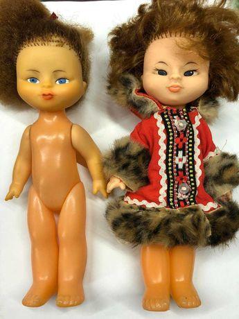 Коллекционная винтажная кукла куколка ссср эскимоска винтаж этническая
