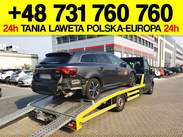 LAWETA NIEMCY Zgorzelec - Jędrzychowice Pomoc Drogowa Europa 24H