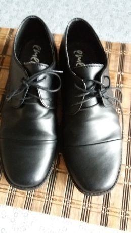 Buty skórzane 34
