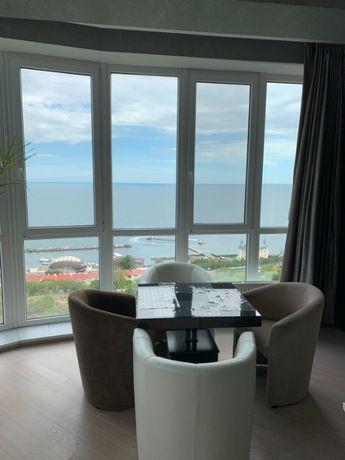 Красивая видовая 4-комнатная квартира у моря ЖК Руслан и Людмила