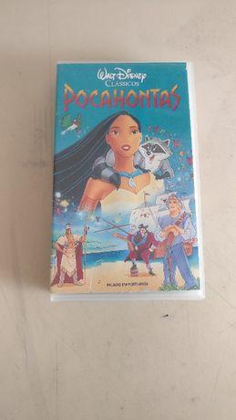 Cassete VHS: Pocahontas 1996