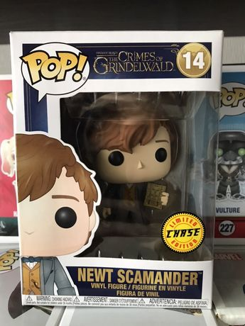 Funko POP! Newt Scamander Fantastic Beasts Фанко Поп CHASE