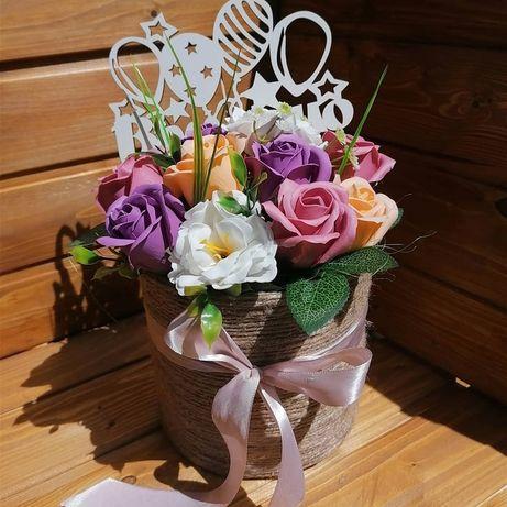 Букети з мильних квітів