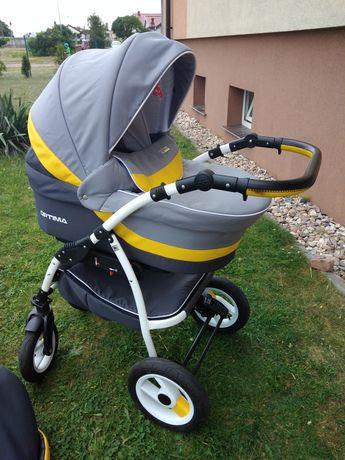 Wózek dziecięcy Verdi Optima 3w1 + torba + dodatki