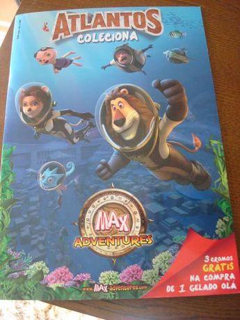 Vendo Cromos Coleção MAX Adventures - Atlantos