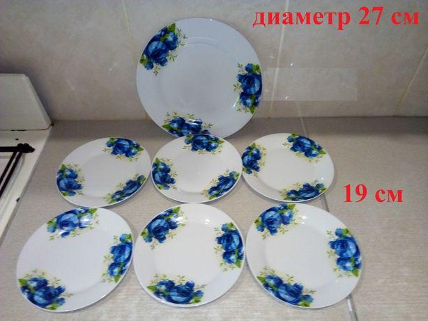 Продам набор для блинов 7 предметов, тарелки, блюдо НОВЫЙ