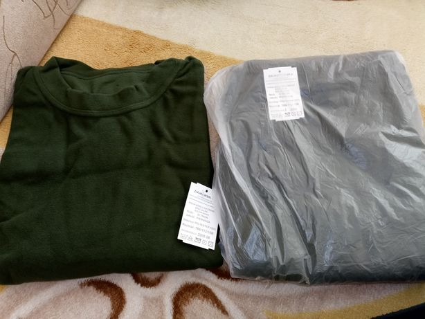 Koszula i kalesony zimowe MON 516