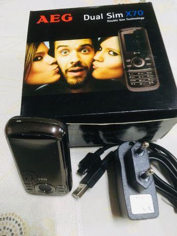 Telemóvel AEG X70 Dual SIM