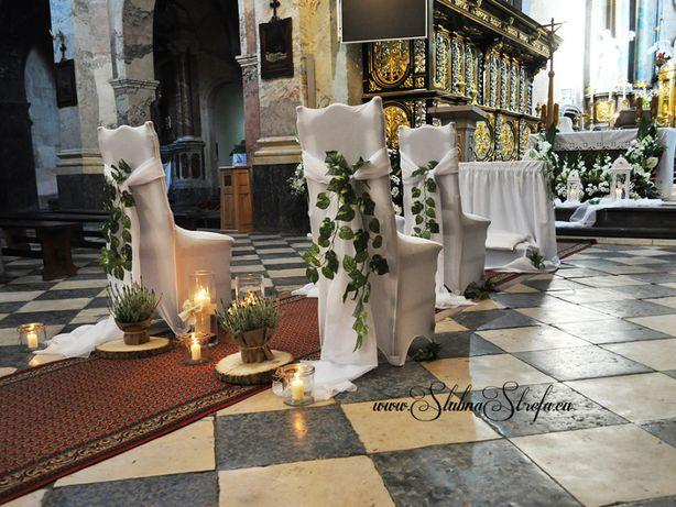 Dekoracja kościoła rustykalna