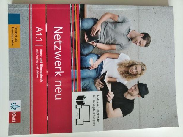 Netzwerk neu A1.1 Książka do języka niemieckiego  nowa