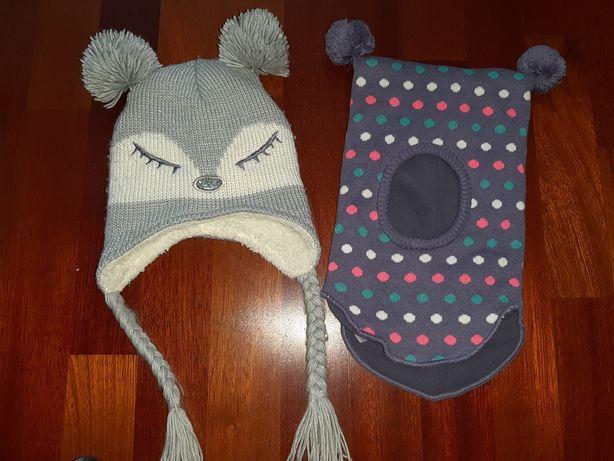 Cool club czapka zimowa komin 44 46 pompon myszka r. 62 68 74