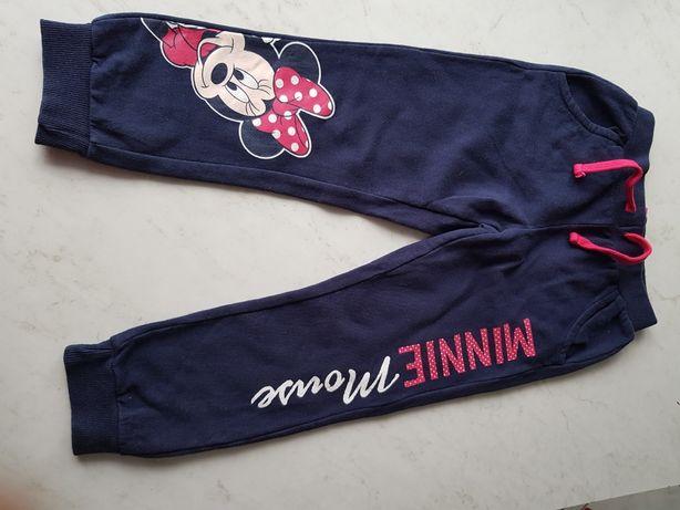 Spodnie dresowe Disney Minnie granatowe rozm. 110, 4 lata