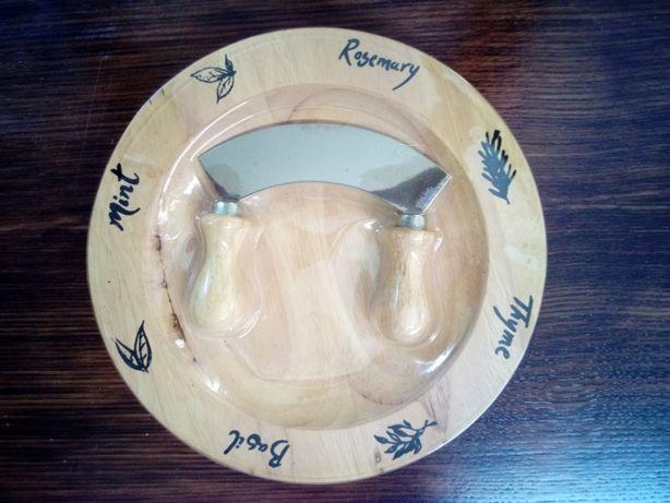 Tábua e faca de queijos