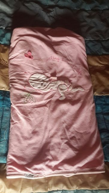Велюровое одеяло трансформер конверт bebessi