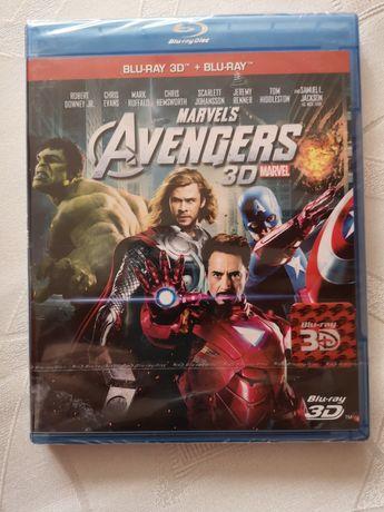 Avengers Marvels 3D blu-ray