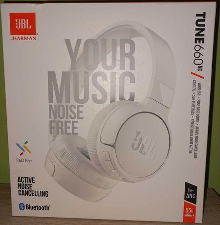 Słuchawki bezprzewodowe JBL Tune 660 NC