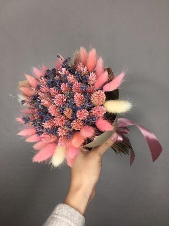 Шикарный букет из сухоцветов