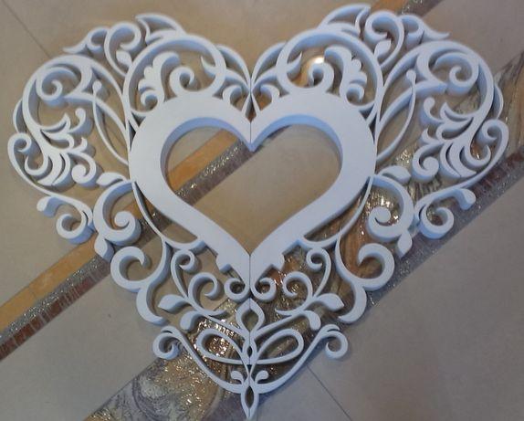 Весільний декор з пінопласту