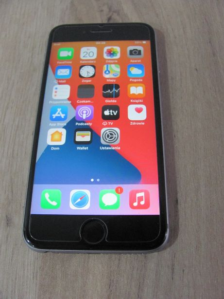 Telefon Iphone 6s 32gb A1688 4,7'' Szary